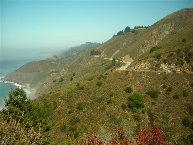 A Backward Glance Along Highway 1.JPG