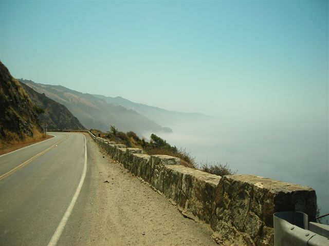 The Road Ahead on Highway 1.JPG