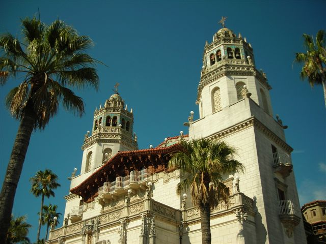The Towers on Hearst Castle.JPG